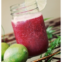 Cherry-Lime Slushy