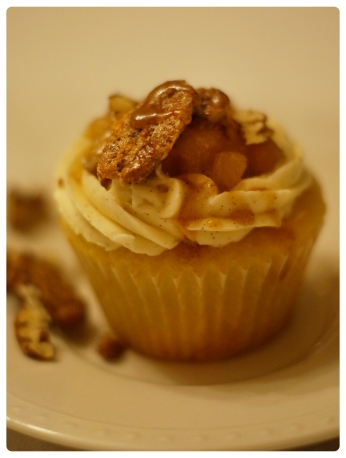 ... Pear Compote, Vanilla Buttercream & Candied Pecans | egg yolk days