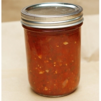 Restaurant Style Roasted Salsa for Canning