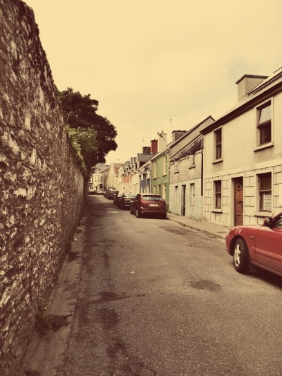 A photo of a quaint street in Dingle.