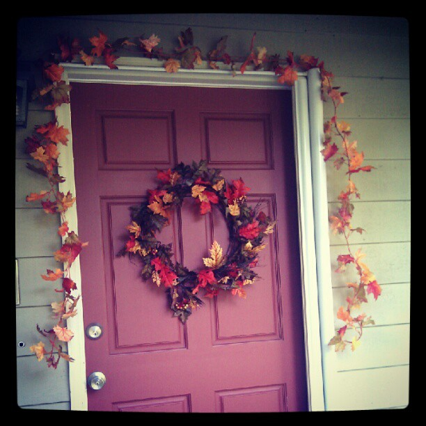 Almost time to break out the fall decorations again.
